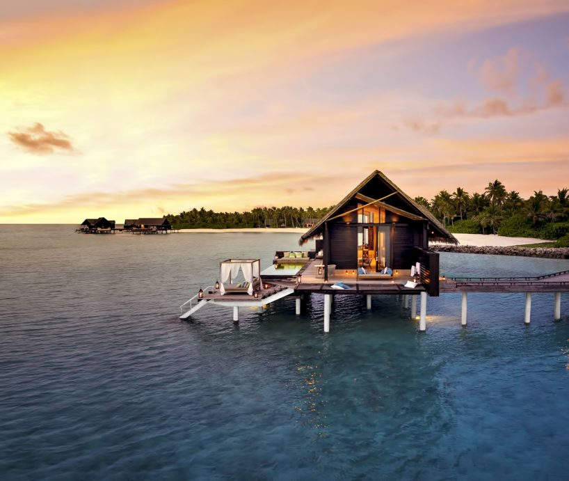 One&Only Reethi Rah Luxury Resort - North Male Atoll, Maldives - Overwater Villa Sunset