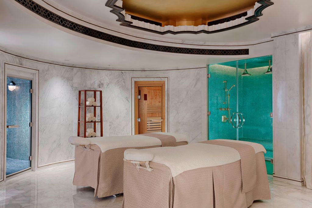 The St. Regis Abu Dhabi Luxury Hotel - Abu Dhabi, United Arab Emirates - Ultra Luxury Abu Dhabi Suite Private Spa