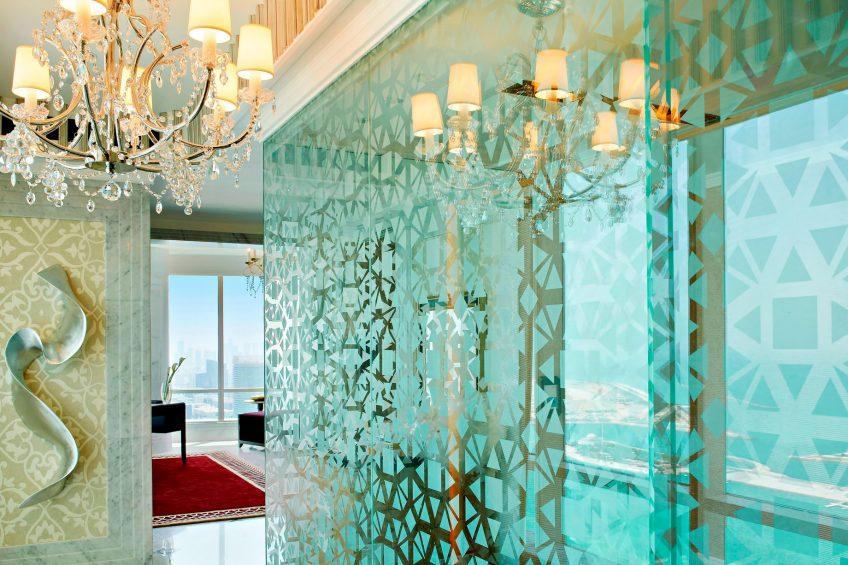 The St. Regis Abu Dhabi Luxury Hotel - Abu Dhabi, United Arab Emirates - Abu Dhabi Suite Private Exercise Room