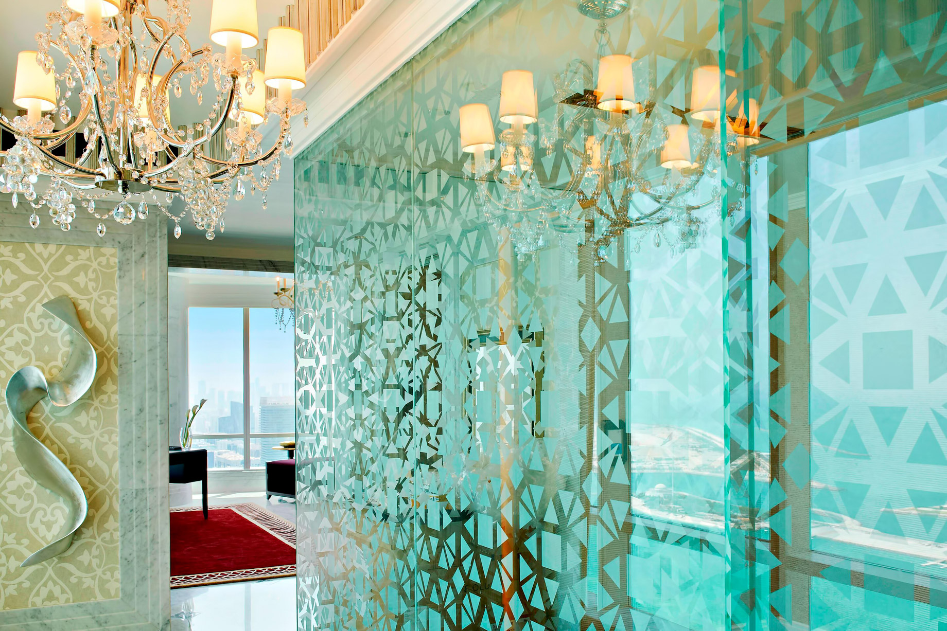 The St. Regis Abu Dhabi Luxury Hotel – Abu Dhabi, United Arab Emirates – Abu Dhabi Suite Private Exercise Room