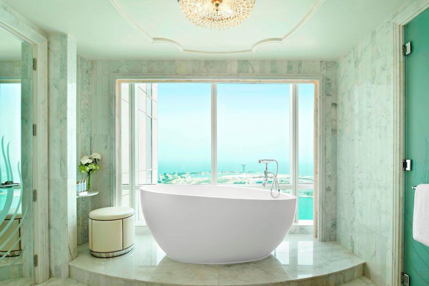 The St. Regis Abu Dhabi Luxury Hotel - Abu Dhabi, United Arab Emirates - Grand Deluxe Suite Bathroom