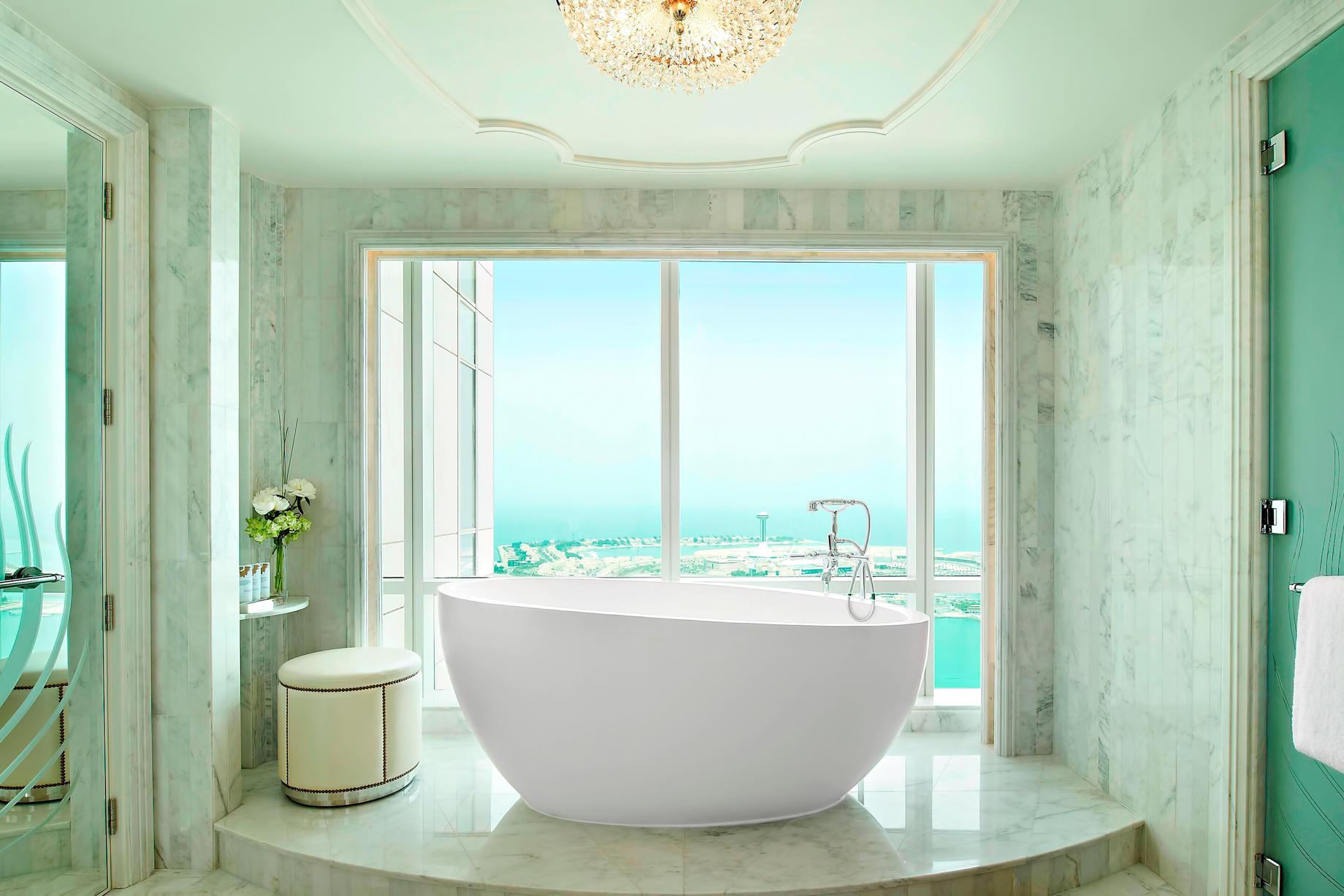 The St. Regis Abu Dhabi Luxury Hotel – Abu Dhabi, United Arab Emirates – Grand Deluxe Suite Bathroom