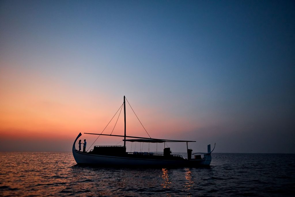 One&Only Reethi Rah Luxury Resort - North Male Atoll, Maldives - Traditional Boat Cruise Twilight