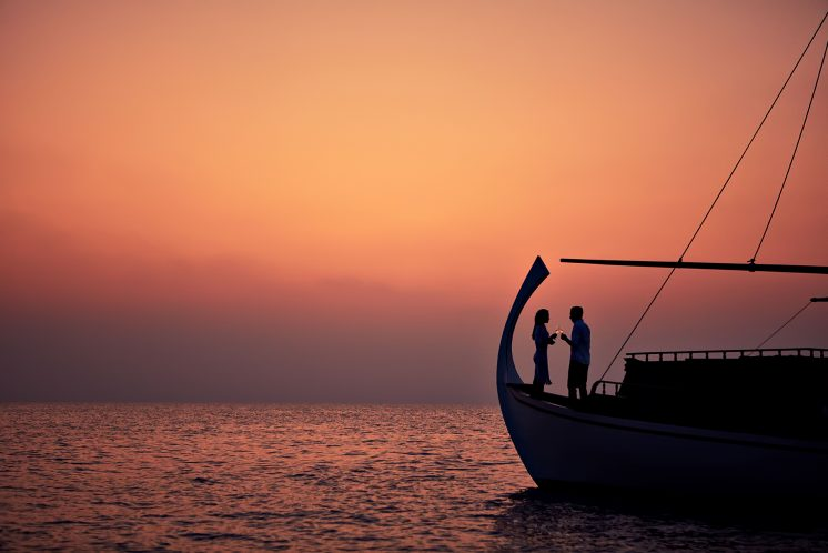 One&Only Reethi Rah Luxury Resort - North Male Atoll, Maldives - Traditional Boat Cruise Sunset