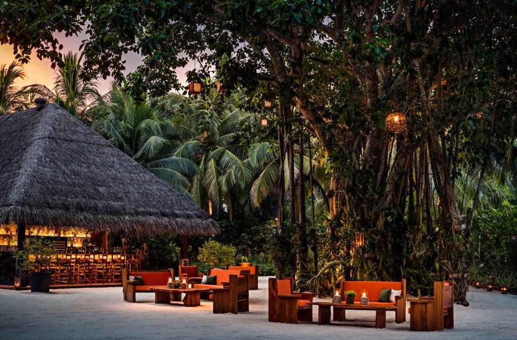One&Only Reethi Rah Luxury Resort - North Male Atoll, Maldives - Botanica Sacred Tree Bar Twilight