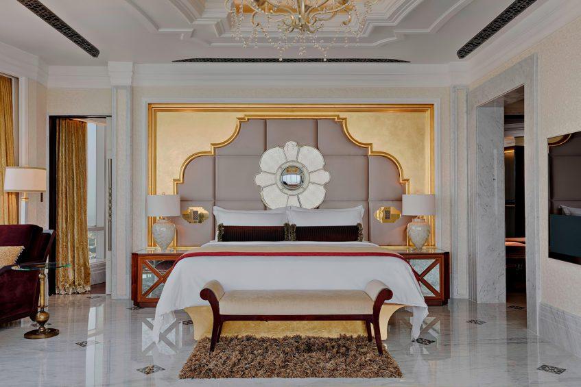 The St. Regis Abu Dhabi Luxury Hotel - Abu Dhabi, United Arab Emirates - Al Hosen King Suite Bedroom