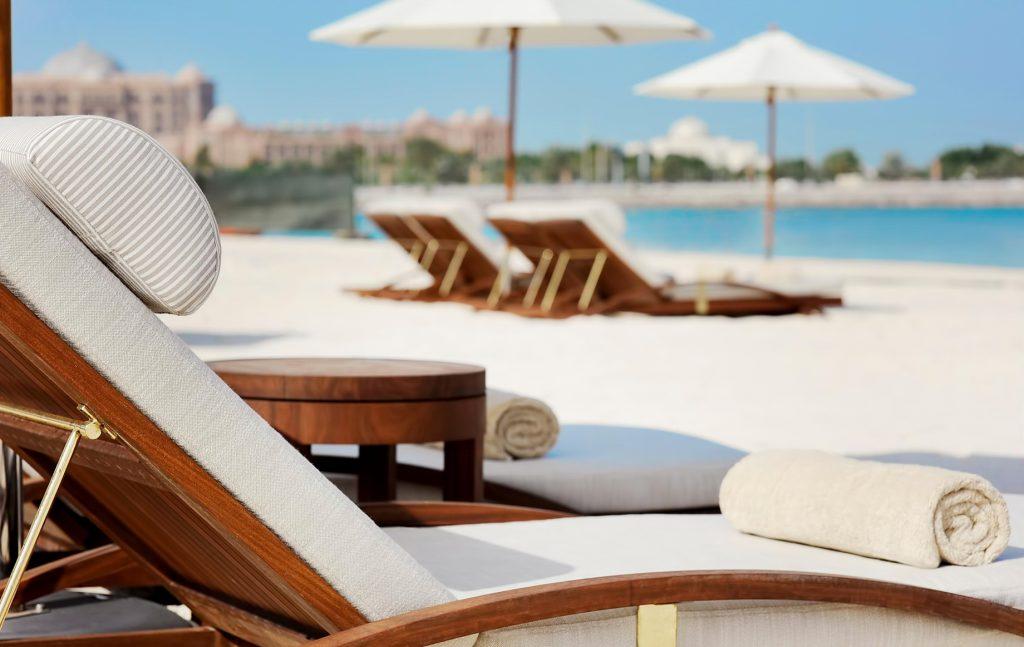 The St. Regis Abu Dhabi Luxury Hotel - Abu Dhabi, United Arab Emirates - Private Beach