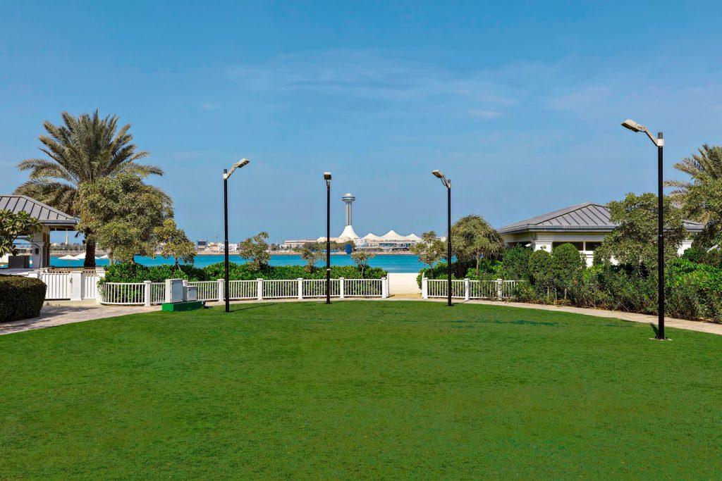 The St. Regis Abu Dhabi Luxury Hotel - Abu Dhabi, United Arab Emirates - Nation Riviera Beach Club Lawn