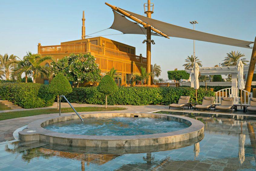 The St. Regis Abu Dhabi Luxury Hotel - Abu Dhabi, United Arab Emirates - Nation Riviera Beach Club Hot Tub