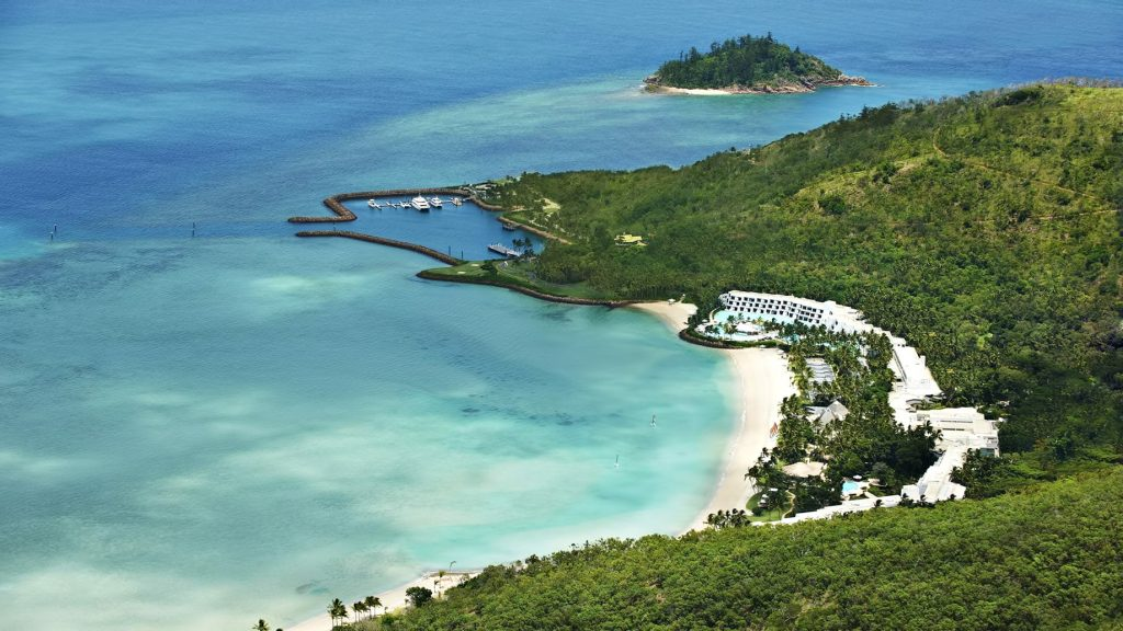 InterContinental Hayman Island Resort - Whitsunday Islands, Australia - Aerial