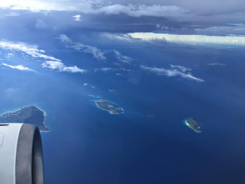 Six Senses Zil Pasyon Luxury Resort - Felicite Island, Seychelles - Airplane View