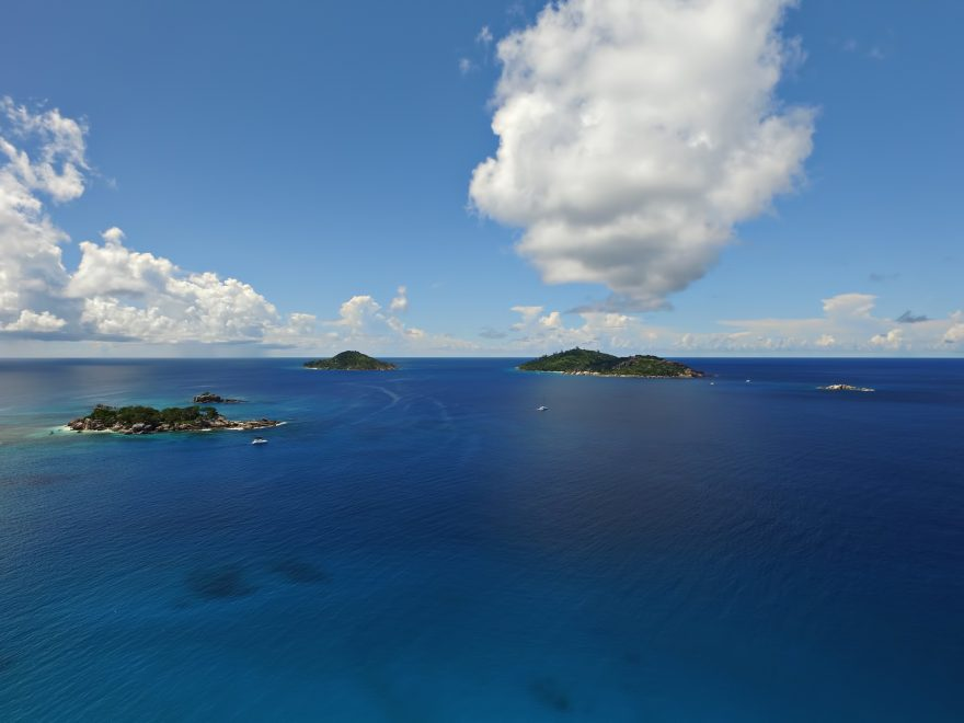 Six Senses Zil Pasyon Luxury Resort - Felicite Island, Seychelles - Island View