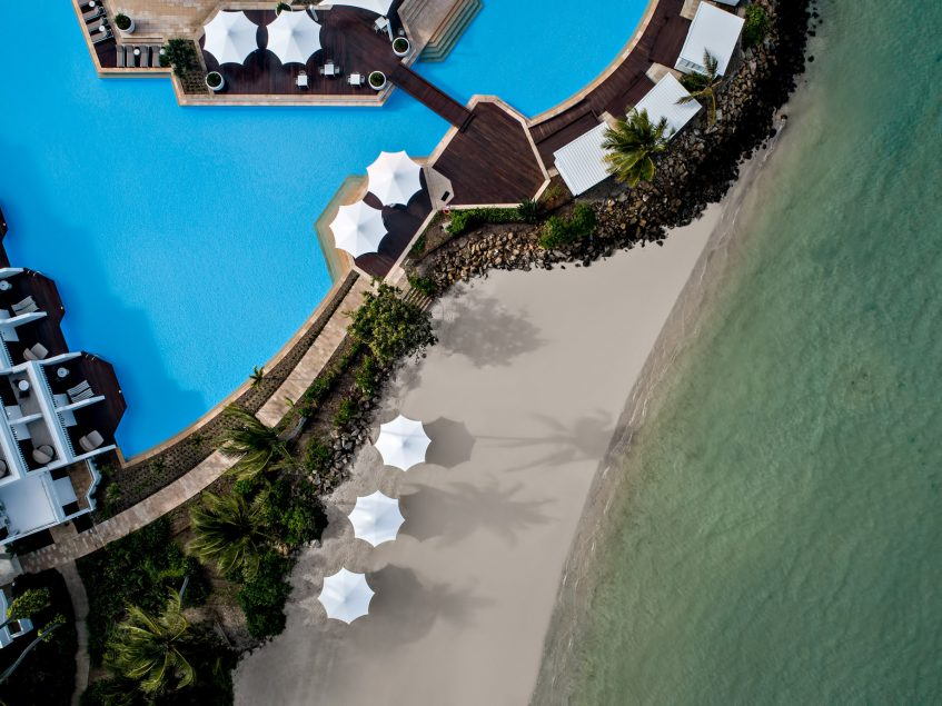InterContinental Hayman Island Resort - Whitsunday Islands, Australia - Coconut Beach and Pool