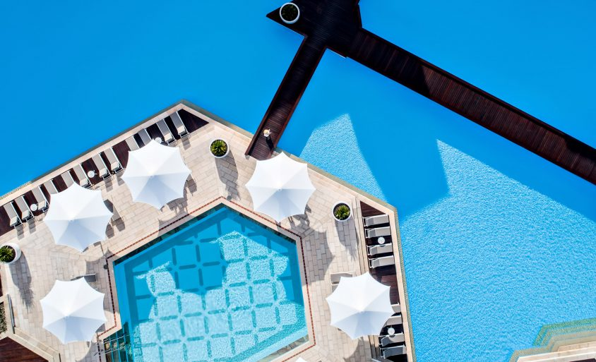 InterContinental Hayman Island Resort - Whitsunday Islands, Australia - Pool Overhead View