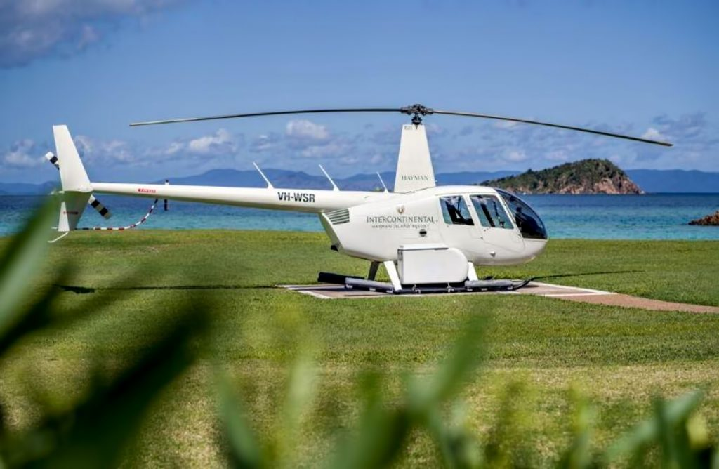 InterContinental Hayman Island Resort - Whitsunday Islands, Australia - Bespoke Helicopter Tours