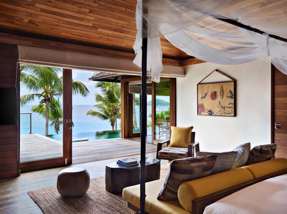Six Senses Zil Pasyon Luxury Resort - Felicite Island, Seychelles - Ocean View Pool Villa