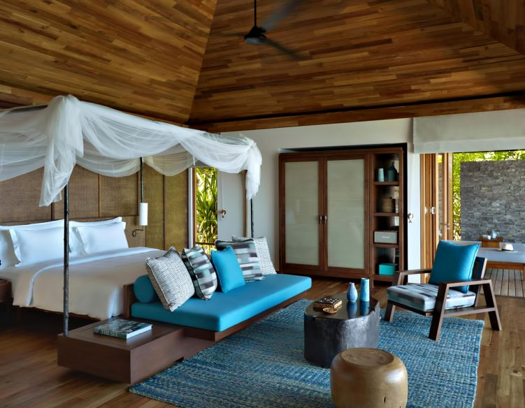 Six Senses Zil Pasyon Luxury Resort - Felicite Island, Seychelles - Hideaway Pool Villa Bedroom