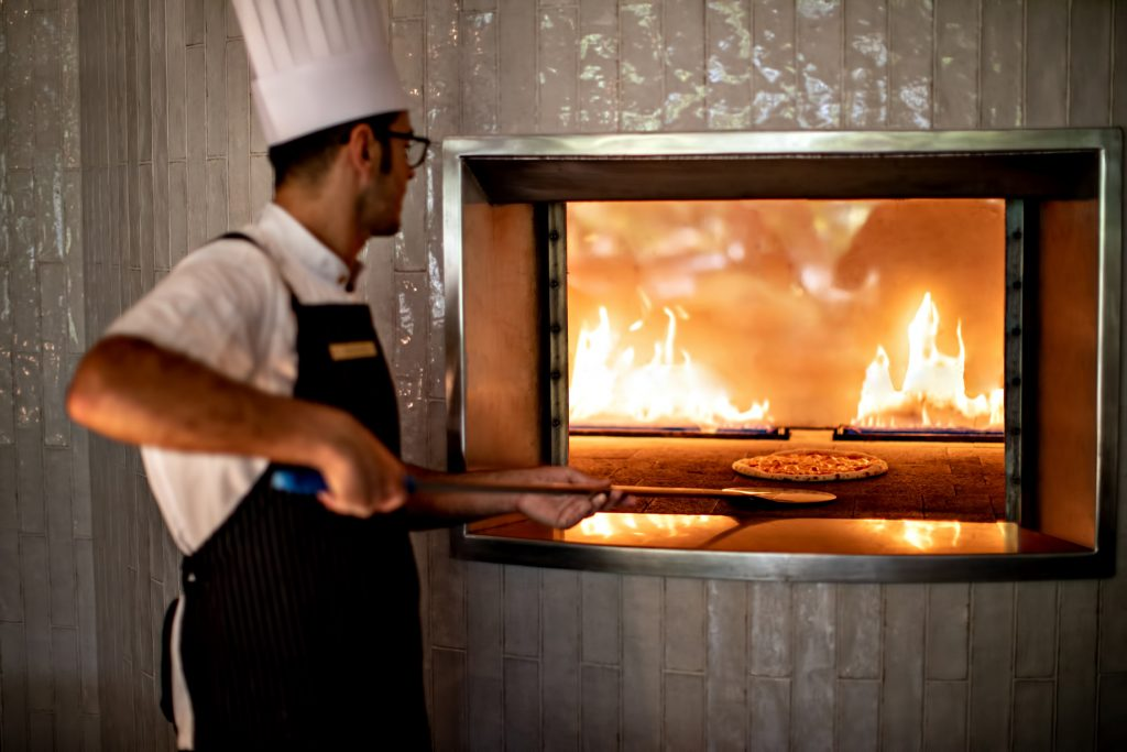 InterContinental Hayman Island Resort - Whitsunday Islands, Australia - Pizza Oven Amici Trattoria Restaurant