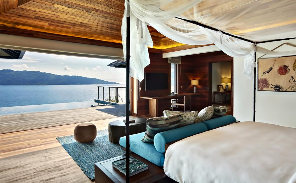 Six Senses Zil Pasyon Luxury Resort - Felicite Island, Seychelles - Panorama Pool Villa Bedroom