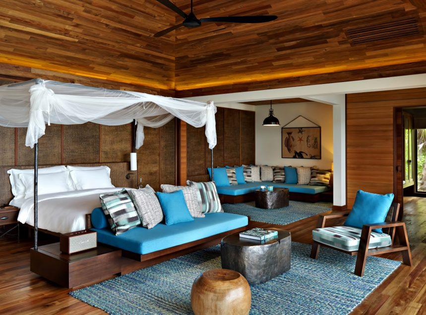 Six Senses Zil Pasyon Luxury Resort - Felicite Island, Seychelles - Signature Pool Villa Bedroom