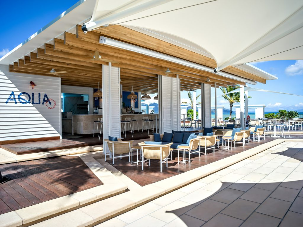 InterContinental Hayman Island Resort - Whitsunday Islands, Australia - Aqua Restaurant Patio