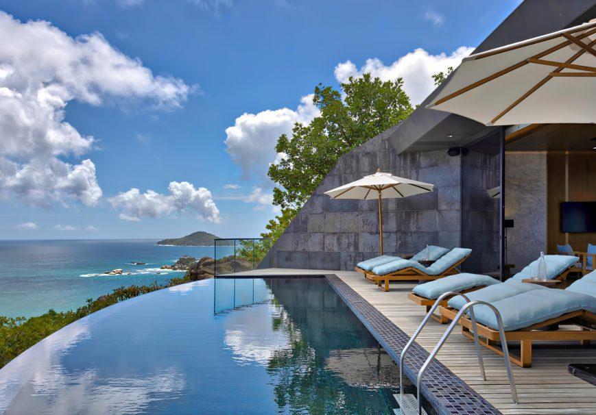 Six Senses Zil Pasyon Luxury Resort - Felicite Island, Seychelles - Three Bedroom Residence Deck