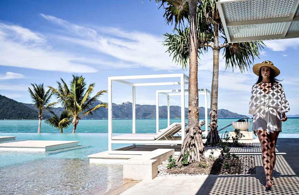 InterContinental Hayman Island Resort - Whitsunday Islands, Australia - Infinity Pool Deck