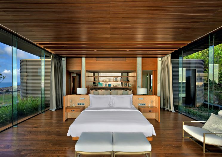 Six Senses Zil Pasyon Luxury Resort - Felicite Island, Seychelles - Three Bedroom Residence Master Bedroom
