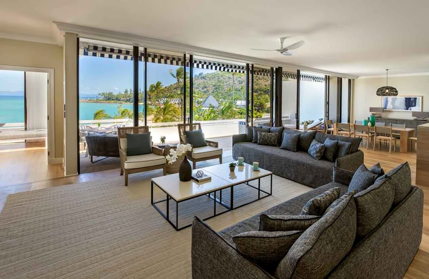 InterContinental Hayman Island Resort - Whitsunday Islands, Australia - Three Bedroom Hayman Suite Living Room