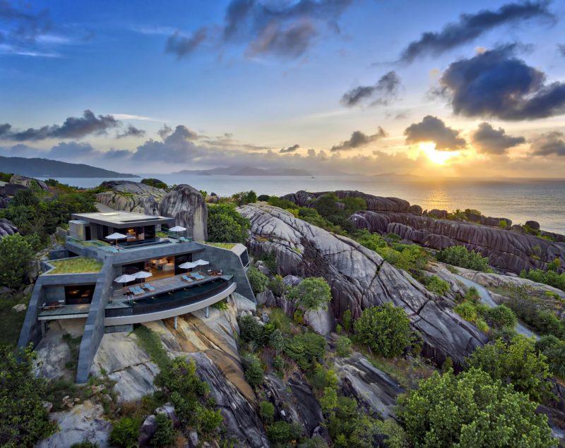 Six Senses Zil Pasyon Luxury Resort - Felicite Island, Seychelles - Four Bedroom Residence