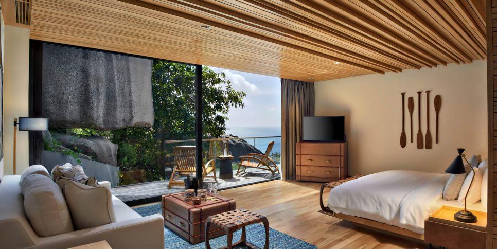 Six Senses Zil Pasyon Luxury Resort - Felicite Island, Seychelles - Four Bedroom Residence Bedroom