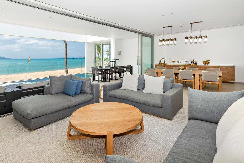 InterContinental Hayman Island Resort - Whitsunday Islands, Australia - Hayman Beach House Living Room