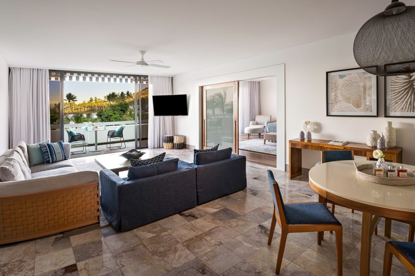 InterContinental Hayman Island Resort - Whitsunday Islands, Australia - Lagoon Suite Lounge Area