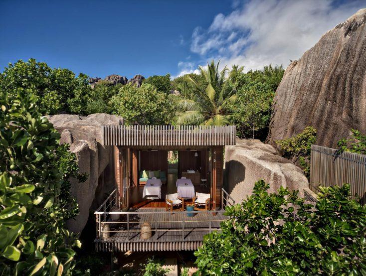 Six Senses Zil Pasyon Luxury Resort - Felicite Island, Seychelles - Spa Exterior Treatment Villa