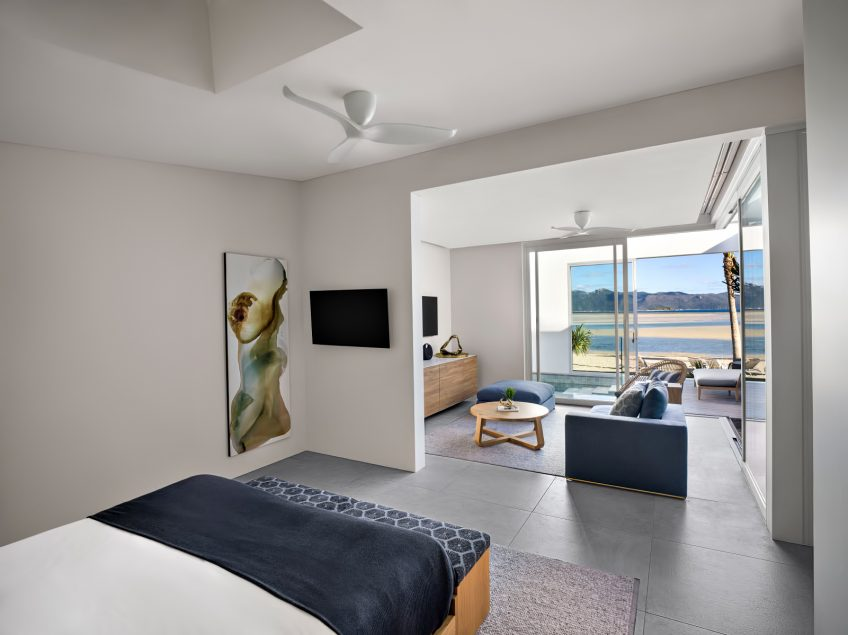 InterContinental Hayman Island Resort - Whitsunday Islands, Australia - Three Bedroom Beach House Master Bedroom