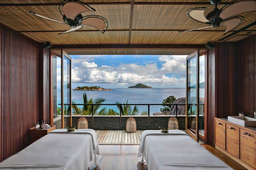 Six Senses Zil Pasyon Luxury Resort - Felicite Island, Seychelles - Spa Treatment Room