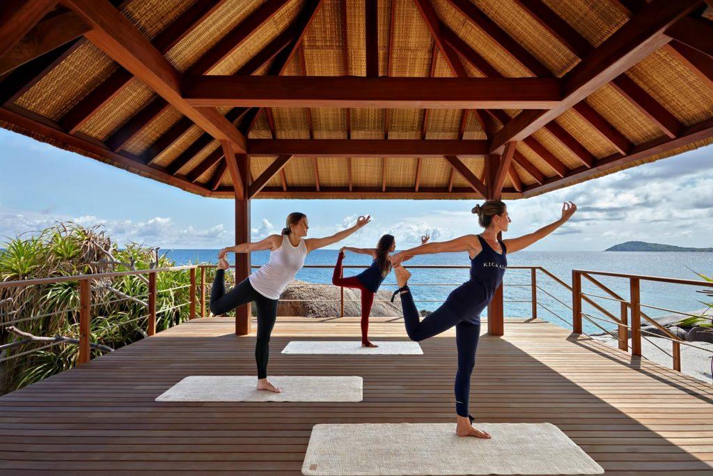Six Senses Zil Pasyon Luxury Resort - Felicite Island, Seychelles - Yoga Pavillion