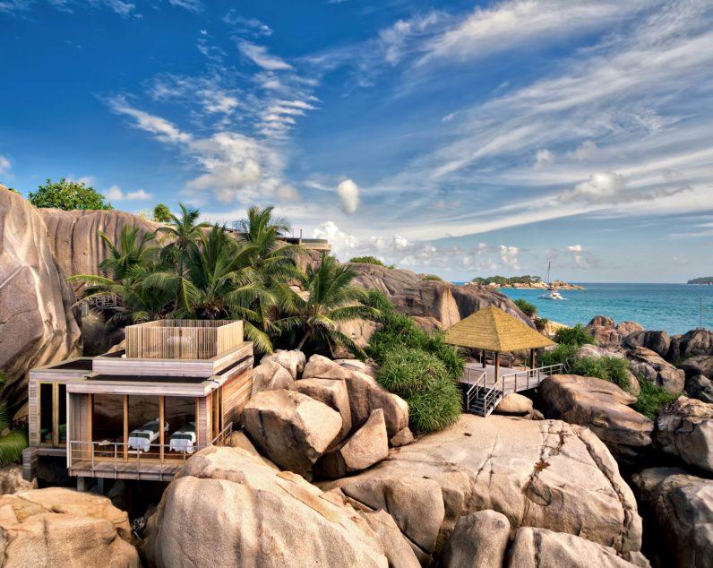 Six Senses Zil Pasyon Luxury Resort - Felicite Island, Seychelles - Spa Exterior View