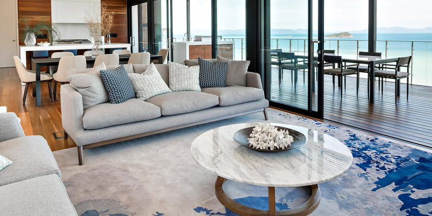 InterContinental Hayman Island Resort - Whitsunday Islands, Australia - Hayman Estate Residence Living Room