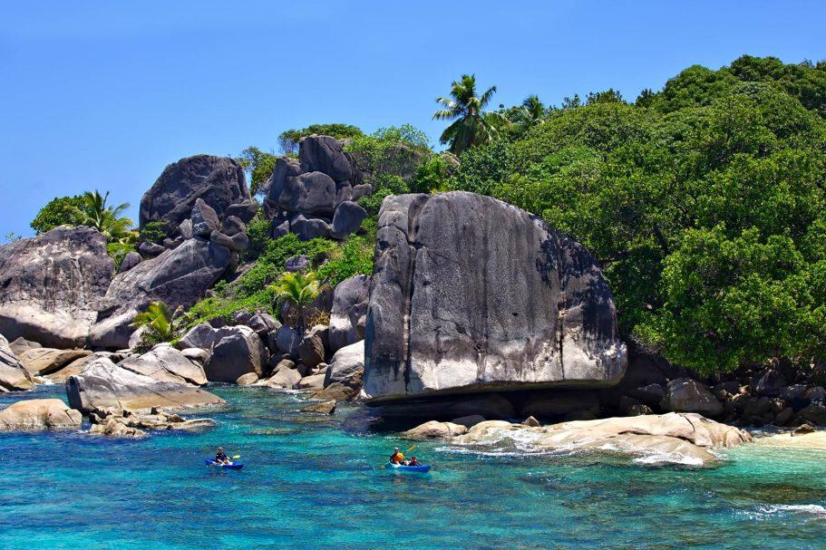 Six Senses Zil Pasyon Luxury Resort - Felicite Island, Seychelles - Kayaking
