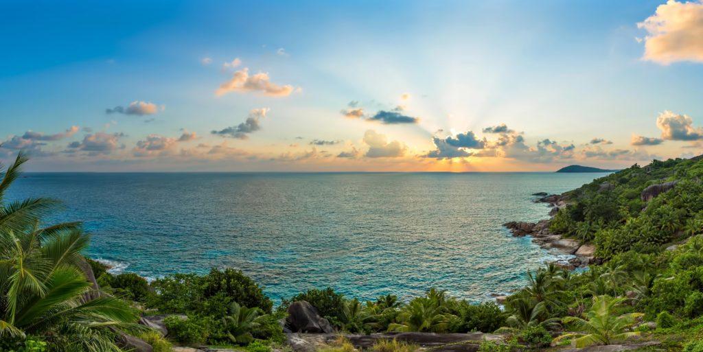 Six Senses Zil Pasyon Luxury Resort - Felicite Island, Seychelles - East Coast View