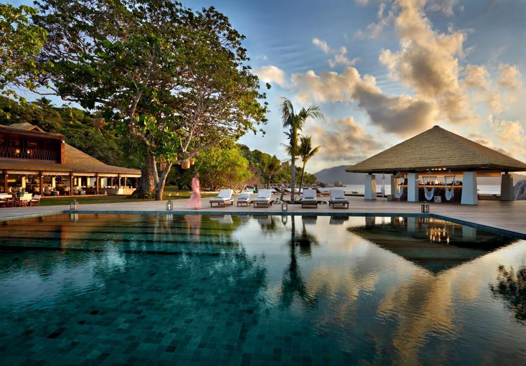 Six Senses Zil Pasyon Luxury Resort - Felicite Island, Seychelles - Main Swimming Pool