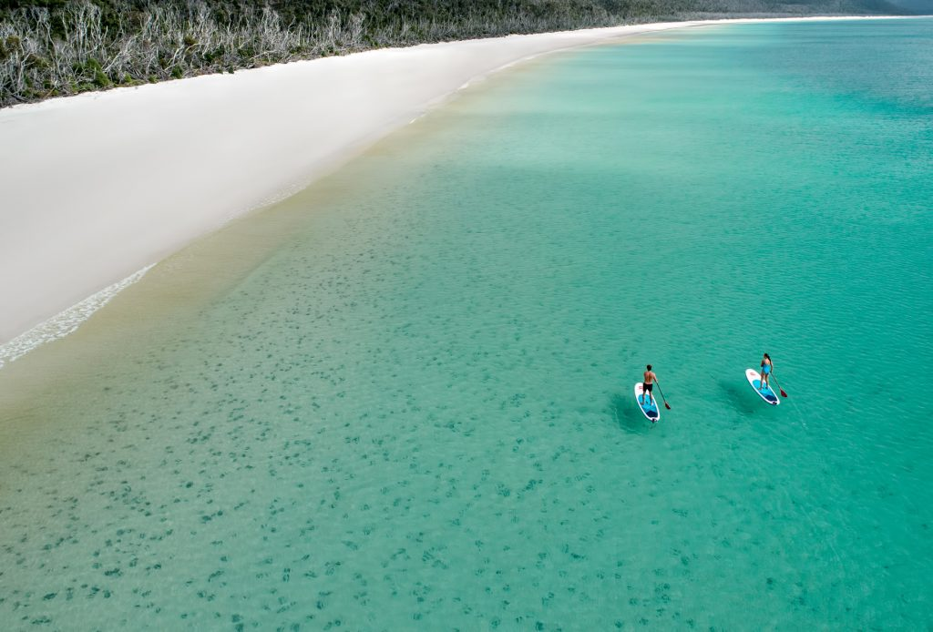 InterContinental Hayman Island Resort - Whitsunday Islands, Australia - Whitehaven Beach Paddle Boarding