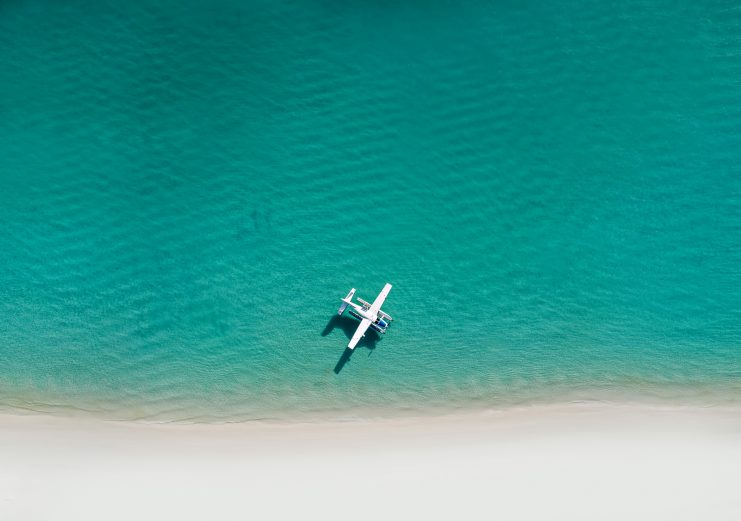 InterContinental Hayman Island Resort - Whitsunday Islands, Australia - Whitehaven Beach Float Plane
