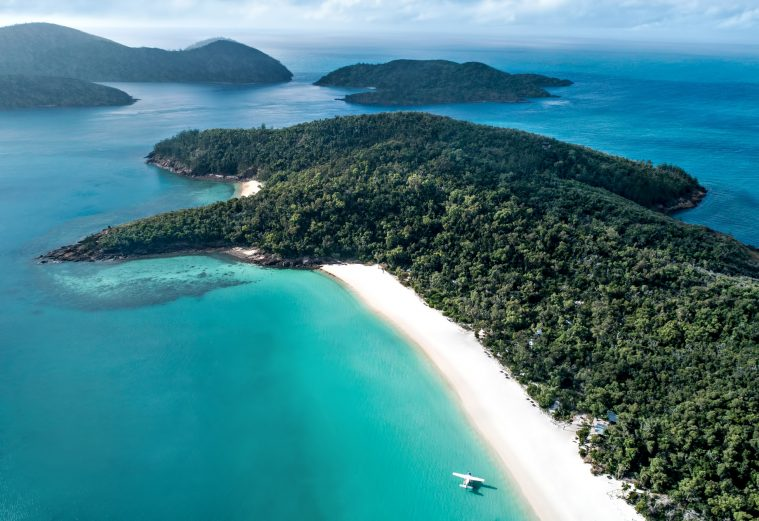 InterContinental Hayman Island Resort - Whitsunday Islands, Australia - Whitehaven Beach Float Plane Tour
