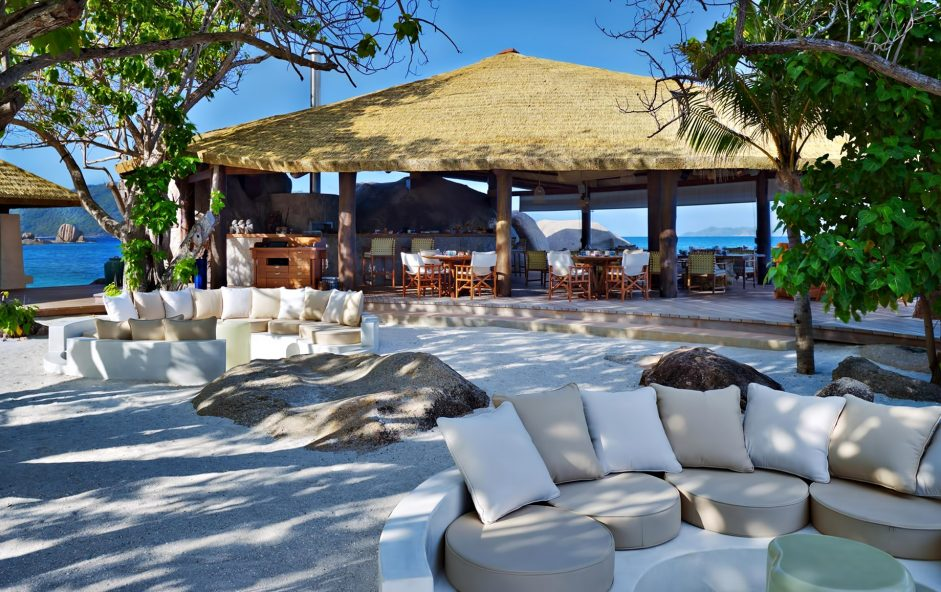 Six Senses Zil Pasyon Luxury Resort - Felicite Island, Seychelles - Ocean Kitchen Patio