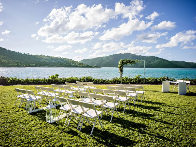 InterContinental Hayman Island Resort - Whitsunday Islands, Australia - Coconut Grove Ceremony