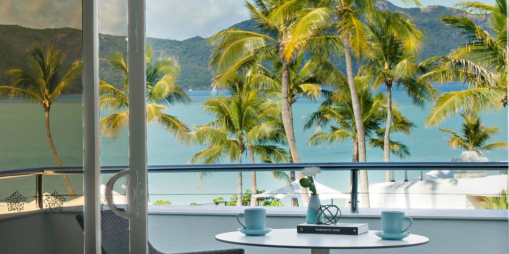 InterContinental Hayman Island Resort - Whitsunday Islands, Australia - Hayman Resort Balcony Palm Tree View
