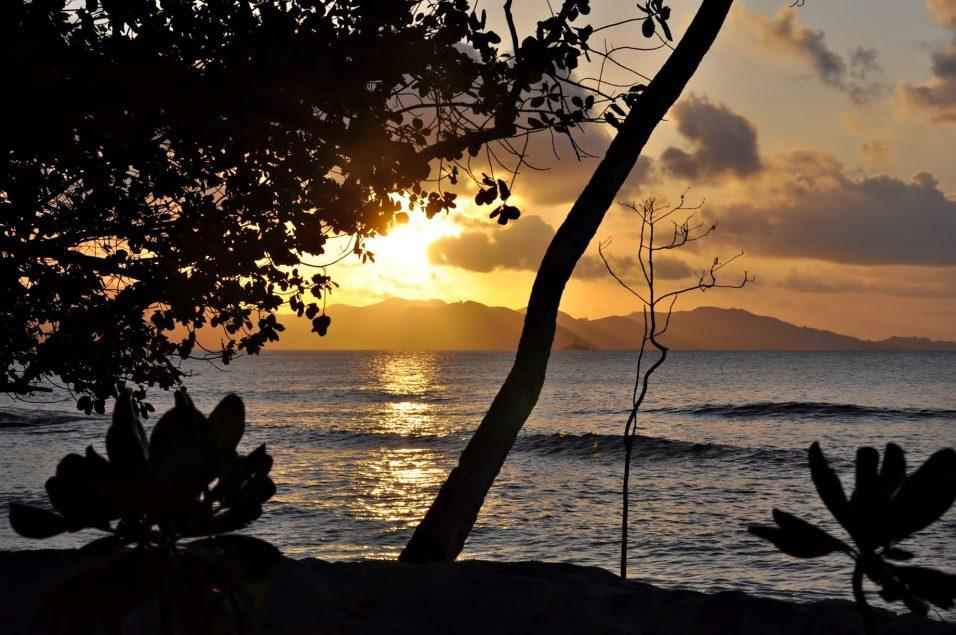 Six Senses Zil Pasyon Luxury Resort - Felicite Island, Seychelles - Tropical Island Sunset