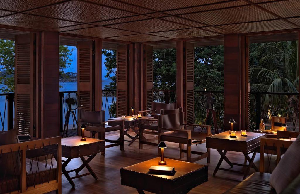 Six Senses Zil Pasyon Luxury Resort - Felicite Island, Seychelles - Rum Bar Evening